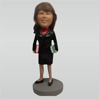 Custom teacher bobblehead doll