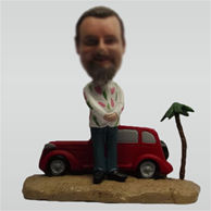 Custom Vacation bobbleheads
