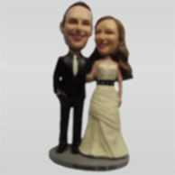 Personalized Customize wedding bobble heads