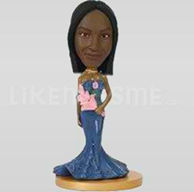 Bobblehead dress-10346