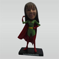 Custom super woman bobble head