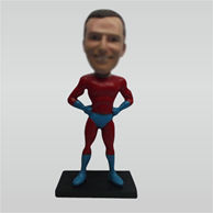 Custom super man bobble heads