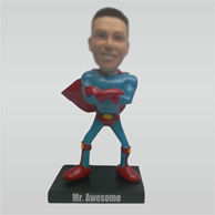 Custom super man bobble head