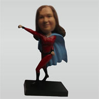 Custom super woman bobblehead