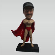 Custom super hero bobble head