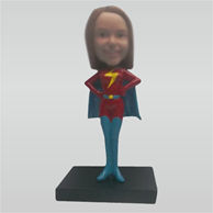 Custom supergirl bobbleheads