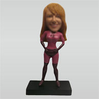 Custom super woman bobbleheads