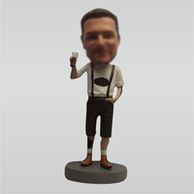 Custom hold beer bobbleheads