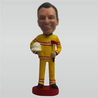 Personalized Custom work bobbleheads man bobble head