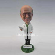 The doctor bobble head doll