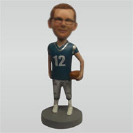 Custom Rugby bobble heads