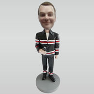 Personalized custom work man bobble heads