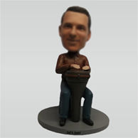 Custom music man bobbleheads