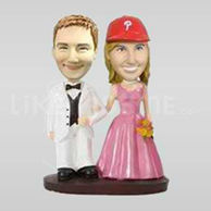 Canada wedding bobble head -10480
