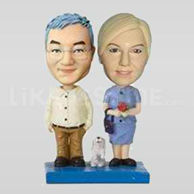Custom wedding cake topper-10490