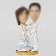 Couple Bobblehead-10504