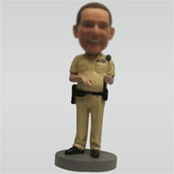 Personalized Custom police bobblehead dolls