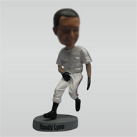 Custom baseball bobblehead doll