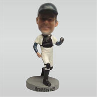 Personalized Custom baseball bobble heads