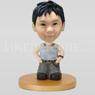 Custom boy bobblehead 10545