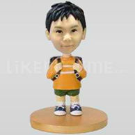 Custom  boy bobble heads doll -10549