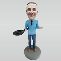 Personalized custom Salesperson bobbleheads
