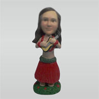 Custom Hula bobble heads doll
