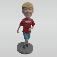 Custom female coach bobbleheads doll