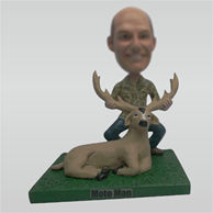 Custom Hunt bobbleheads doll