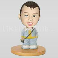 Custom boy bobblehead doll -10567