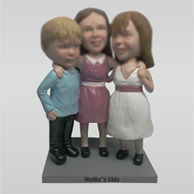 Custom family bobbleheads doll