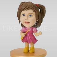 Girl Bobblehead custom-10569