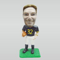Personalized custom Rugby bobble head