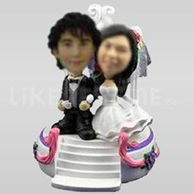 Cake customized toppers wedding-10624
