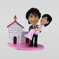 Wedding cake toppers custom made-10626