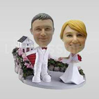 Custom Couple Bobblehead -10630