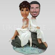Bobbleheads wedding cake toppers-10659