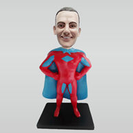Custom super man bobblehead doll