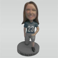 Personalized custom Rugby bobbleheads