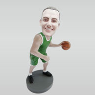 Custom basketball player bobble heads