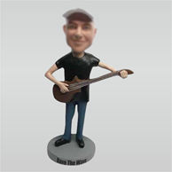 Custom guitar bobble heads