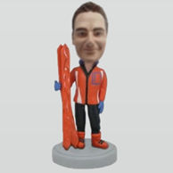 Custom Skiing bobblehead doll