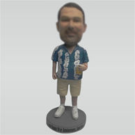 Customize Leisure man bobblehead