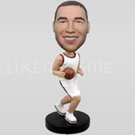 Custom Bobblehead Basketball 6-10750