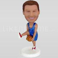 Custom Bobblehead Basketball Between The Legs-10759