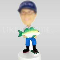 Custom Bobblehead Fisherman-10761