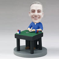 Custom man bobbleheads Playing cards