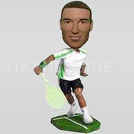 Custom Bobblehead Tennis 4-10771