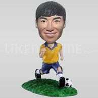 Custom Soccer player Bobblehead  3-10783
