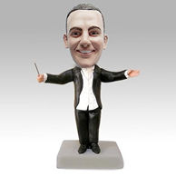 Personalized custom Music conductor bobble heads